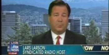 Fox Guest Lars Larson Thinks 'Racist' Blacks Should Be 'Ashamed' Of Their Support For President Obama