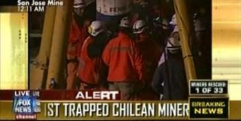First Chilean Mine Worker Rescued After Being Trapped For 69 Days