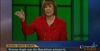 Sharron Angle Tells Harry Reid To 'Man Up' On The Need For Social Security Privatization