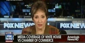 Liz Trotta Attacks Think Progress For Their Reporting On The US Chamber Of Commerce