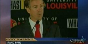 Rand Paul Refuses To Shake Hands At End Of Debate With Jack Conway