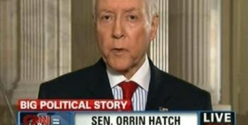 Orrin Hatch: Don't Smear Clarence Thomas And His Wife Ginni!