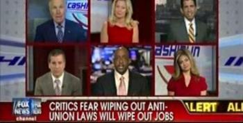 Cashin' In Panel Bashes Unions As Destroying Jobs, Democracy