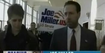 Rachel Maddow Manages To Ask Joe Miller About His Extreme Views On Gay Rights - Doesn't End Up In Cuffs