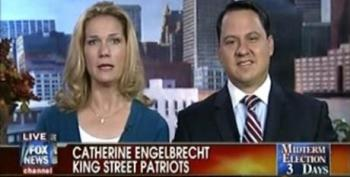 Fox Allows King Street Patriots Leader Engelbrecht Play The Victim While Her Group Intimidates Voters