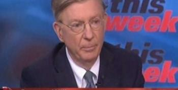 George Will Thinks Gridlock Is Wonderful -- When Republicans Are Doing It