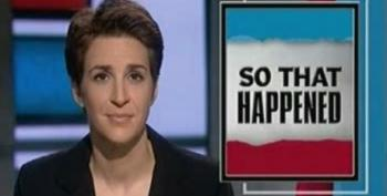 Rachel Maddow On The Suspension Of Keith Olbermann