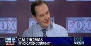 Cal Thomas: The Mainstream Media Is No Longer Mainstream -- Fox Is
