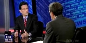 Cantor Refuses To Rule Out Government Shutdown