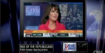 Kurtz Points Out How Palin Refuses To Answer Questions Outside The Fox Bubble