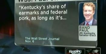Rand Paul Already Flip Flopping On His Earmark Pledge