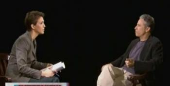 Rachel Maddow: The Interview With Jon Stewart Part 2