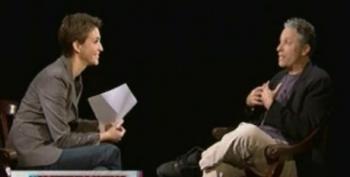 Rachel Maddow: The Interview With Jon Stewart Part 5
