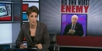 Rachel Maddow Asks Why The Beltway Media Takes Flip-Flopper John McCain Seriously