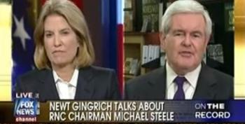 Gingrich Pretends Republicans Can't Be Racist Since They Elected Michael Steele As RNC Chair