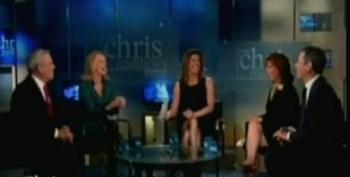 Chris Matthews Show Panel Yucks It Up Over Flashback Of Katherine Harris Florida Recount Debacle