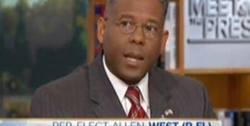 David Gregory Doesn't Ask Wingnut Panelist Allen West A Single Question About His Violent Rhetoric