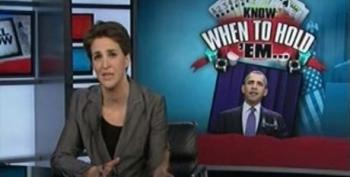 Rachel Maddow Takes President Obama To Task For Federal Worker Pay Freeze