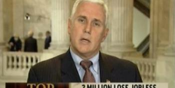 More Hackery From Mike Pence: The Best Thing For The Unemployed Is Tax Cuts For Millionaires