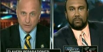 Rep. Steve King Attempts To Defend His Racist Remarks On AC360