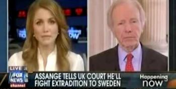 Lieberman Suggests NY Times Could Be Prosecuted Over WikiLeaks Stories
