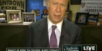 David Gergen Tells The Middle Class They'd Better Be Ready To Take Their Medicine After The Rich Get Their Tax Cuts