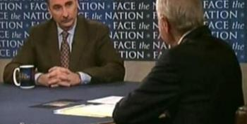 "Bob Schieffer Blames People For World Wide ""Debt' Issue"