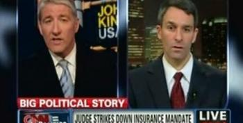 Ken Cuccinelli Hopes Putting Employers In Limbo With HCR Ruling Will Push Case To Supreme Court