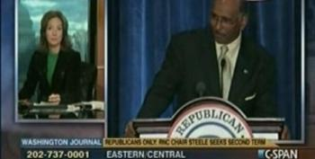 Racist C-SPAN Callers Say They Don't Support Steele As RNC Chair Because He's Black