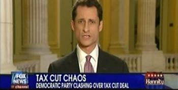 Weiner Hits Hannity For Defending The Rich And Wanting To 'Borrow For Rupert Murdoch's Tax Break'