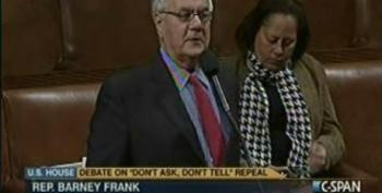 Barney Frank Speaks Out On Repeal Of DADT -- The Distraction Is The Policy