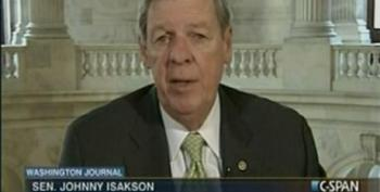 Johnny Isakson Pretends He Doesn't Hear Caller's Question On First Responders Bill