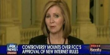 Marsha Blackburn Accuses The FCC Of Usurping The Power Of Congress With Net Neutrality Ruling