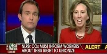 Corporate Lobbyist Front Group's Barbara Comstock Blames Unions For Outsourcing