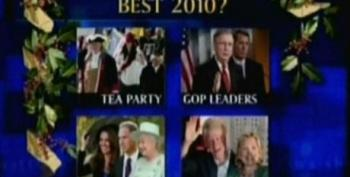 Chris Matthews Panel Thinks Astroturf Tea Party Had The Best Year In 2010