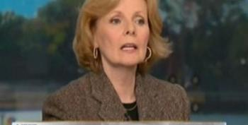 Peggy Noonan Opines Over Her Old Boss' Trickle-Down Economics Finally Taking Their Toll On Americans