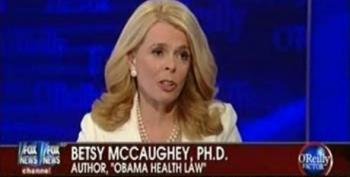 The 'Death Panels' And Betsy McCaughey Are Back At Fox News