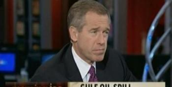 Brian Williams Claims The Media Quit Covering The BP Oil Spill Because The Public Lost Interest In The Story