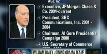 The Villagers Are All Aflutter Over The Prospect Of William Daley Joining The Obama Administration