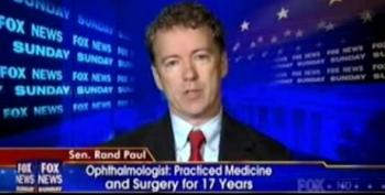 Rand Paul On Shooting: 'Weapons Don't Kill People'
