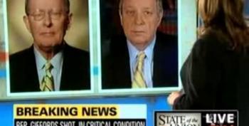 GOP Senator Urges Media Not To Talk About Palin's Violent Rhetoric