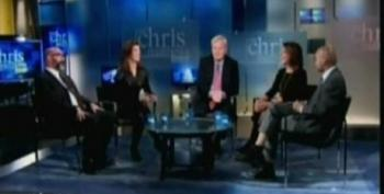 Chris Matthews Asks How The Left Wing Of The Democratic Party Will React To Triangulation