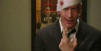 SNL Digital Short: Andy Sandberg And Pee-wee Herman Get Drunk And Attack Anderson Cooper