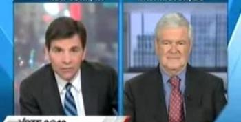 Gingrich Warns Palin: 'Be More Careful' With Your Words
