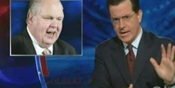 Colbert 'Translates' Rush's Mockery Of Chinese President Hu Jintao