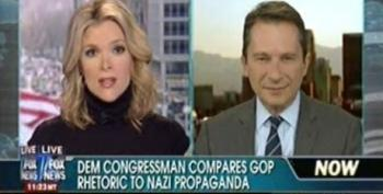 Fox's Megyn Kelly Pretends Her Fellow Fox Hosts Have Never Invoked Nazi Imagery
