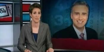 Rachel Maddow On Keith Olbermann's Departure From MSNBC