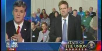 Frank Luntz Gives Hannity's SOTU Audience A 'Focus Group' Full Of Obama-haters And Then Feeds Them False Information