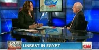 "John McCain Advocates For Democracy In Egypt: ""We Need To Be On The Right Side Of History"""