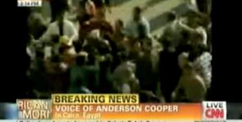 Anderson Cooper 'Punched In The Head' 10 Times By Pro-Mubarak Thugs